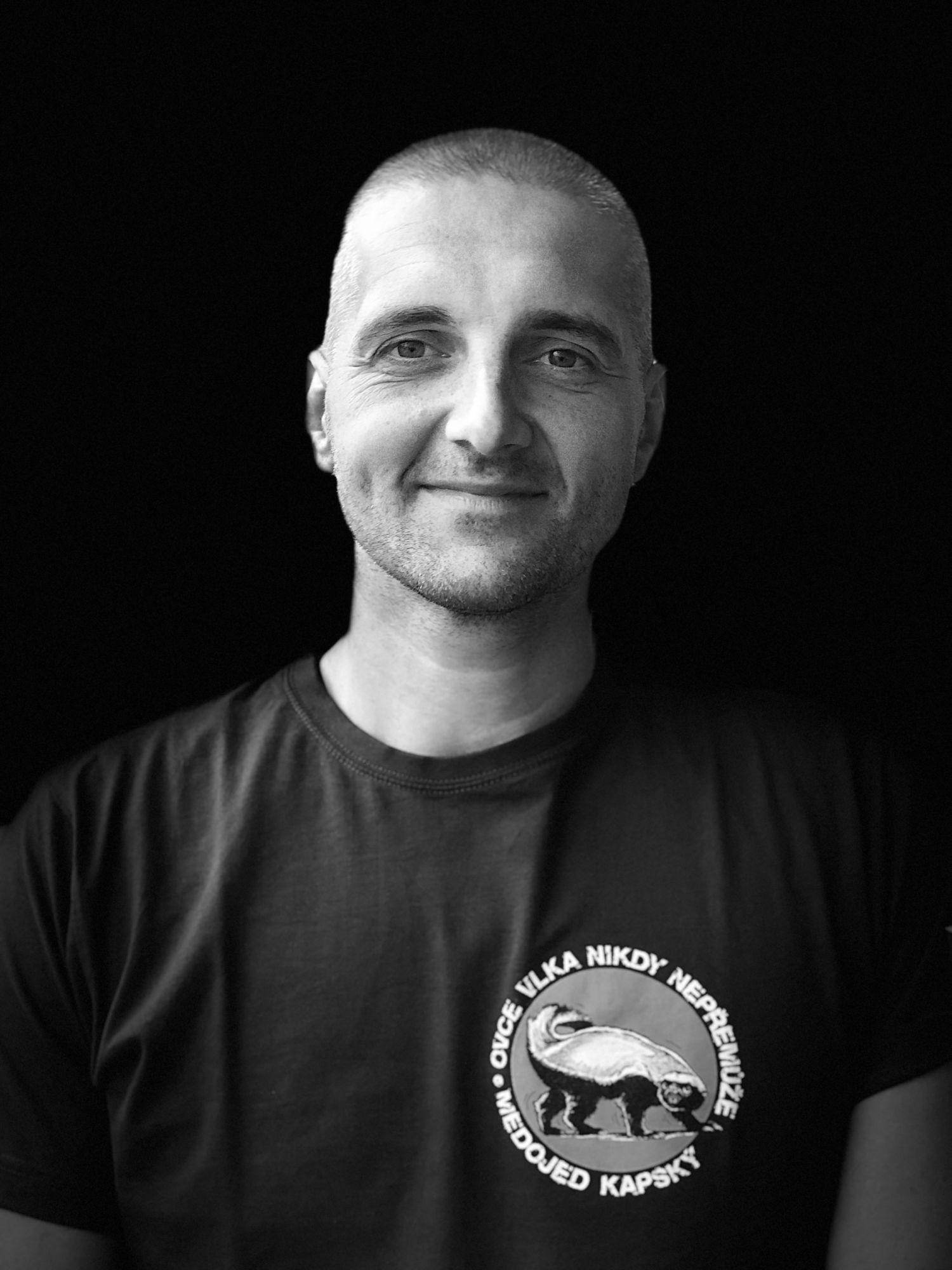 Pavel Špůr instruktor Krav Maga